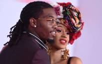 FILE: US rapper Cardi B (R) and US rapper Offset arrive at the 2018 American Music Awards on 9 October 2018 in Los Angeles, California. Picture: AFP