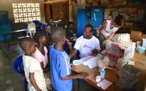 FILE: The MSF operating out of a temporary clinic in a school building in Bangula, Malawi, to treat flood victims suffering from diseases such as malaria on 25 January 2015. Picture: EWN