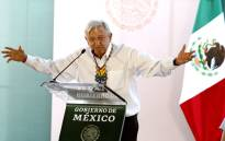FILE: Mexico's President Andres Manuel Lopez Obrador. Picture: AFP