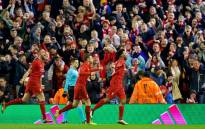 FILE: Liverpool players celebrate after scoring. Picture: Liverpool FC official Facebook page.
