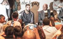 Drake visits Mandela's memory centre as part of 40th Anniversary of 16 June 1976.Picture : Kgothatso Mogale/EWN