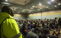 The Rustenburg Civic Center is packed as residents wait to make their land submissions to Parliament's constitutional review committee. Picture: Kayleen Morgan/EWN