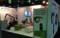 FILE: A Goverment Employee Pension Fund stand. Picture: @GEPF_SA/Twitter
