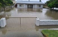 Struisbaai and surrounding areas in the Western Cape experienced heavy rain and flooding on 5 May 2021. Picture: Supplied