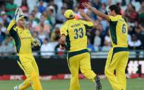 Australia chased down the highest ever total in a T20 at Newlands as they convincingly reached the Proteas target of 179 to clinch the series 2-1 with a six-wicket victory in the final over at Newlands on 9 March 2016. Picture: CSA official Facebook page.