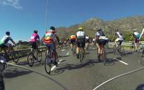 FILE: A group of cyclists were attacked with a sjambok near Blackhill at the weekend. Picture: Supplied.