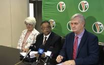 FILE: Peter Marais (c) will run as the Freedom Front Plus premier candidate for the 2019 general elections. Picture:Lindsay Dentlinger/EWN
