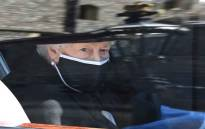 Britain's Queen Elizabeth II arrives in the Royal Bentley at the funeral for her husband, Britain's Prince Philip, Duke of Edinburgh to St George's Chapel in Windsor Castle in Windsor, west of London, on 17 April 2021. Picture: LEON NEAL/POOL/AFP