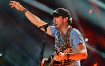 Country singer Luke Bryan performs during a concert in Nashville, Tennessee. Picture: AFP