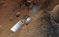 FILE: The European Space Agency's Mars Express orbiter has been circling Mars since 2003. Picture: @esascience/Twitter.