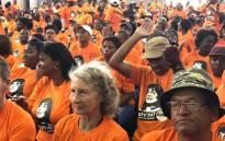 Supporters of Good party and its leader Patricia de Lille came out in their numbers as the newly-formed party officially launched its Western Cape 'Aunty Pat for Premier' campaign in Blue Downs, Cape Town. Picture: Lauren Isaacs/EWN.