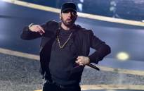 US rapper Eminem performs onstage during the 92nd Oscars at the Dolby Theatre in Hollywood, California on 9 February 2020. Picture: AFP