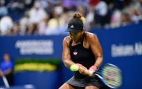 Naomi Osaka of Japan in action in a women's semifinal match on day eleven of the 2018 US Open tennis tournament. Picture: @usopen/Twitter.