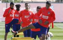 Atletico Madrid players in training following their Champions League's defeat against Juventus. Picture: @AtleticodeMadrid/Twitter.