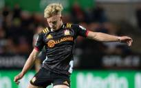 All Blacks and Chiefs utility back Damian McKenzie will miss the Rugby World through injury. Picture: Twitter/@ChiefsRugby