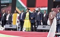 Deputy President David Mabuza addressed the National Prayer Day service at Johannesburg's Ellis Park Stadium on Saturday. Picture: Twitter/ @PresidencyZA
