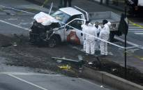 Investigators inspect a truck following a terror attack incident in New York on 31 October 2017 in which 8 people were killed. Picture: AFP