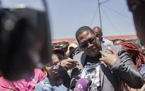 Gauteng MEC for Education Panyaz Lesufi visiting the family of Laticia Jansen who was raped and murdered in Germiston on 27 January 2020. Picture: Sethembiso Zulu/EWN