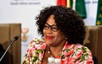 Communications Minister Nomvula Mokonyane. Picture: GCIS