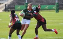 Jakkie Cilliers in action for the Springbok Women against Kenya during a Test series at the Danie Craven Stadium in Stellenbosch on 16 August 2021. Picture: @WomenBoks/Twitter