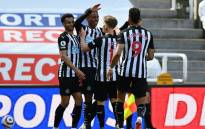 Newcastle moved closer to Premier League survival after Joe Willock's late goal capped a thrilling 3-2 win against 10-man West Ham. Picture: Twitter @NUFC.