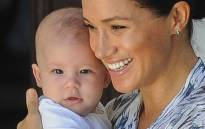 FILE: Meghan Markle with her son Archie on 25 September 2019. Picture: AFP.