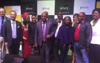 Herman Mashaba announces his NEW mayoral committee. Picture: Kgothatso Mogale/EWN