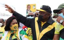 ANC president Cyril Ramaphosa in Atlantis, the Western Cape, on Thursday 21 October 2021. Picture: MyANC/Twitter