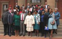 Members of the Free State provincial legislature after being sworn in on 22 May 2019. Picture: Free State Provincial Government/Facebook.