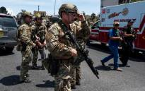 FILE: Law enforcement agencies respond to an active shooter at a Wal-Mart near Cielo Vista Mall in El Paso, Texas, Saturday, 3 August 2019. Picture: AFP