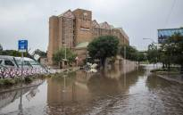 Centurion Lake Hotel was severely flooded on 9 December 2019. Picture: Abigail Javier/EWN.