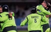 Pakistani cricket team. Picture: AFP