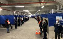 The Western Cape Department of Health's new mass vaccination centre, the Athlone Vaccination Centre of Hope. Picture: Kaylynn Palm/Eyewitness News