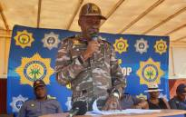 National Police Commissioner Khehla Sitole. Picture: @SAPoliceService/Twitter