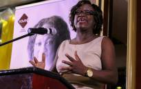 FILE: Zimbabwean human rights activist and former abductee Jestina Mukoko speaks during the official launch of her book 'The abduction and trial of Jestina Mukoko', on 5 May 2016 in Harare. Picture: AFP