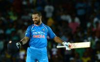 FILE: Indian cricketer Shikhar Dhawan. Picture: AFP.
