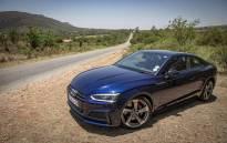 The new Audi S5. Picture: Thomas Holder/EWN