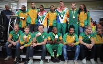 Team SA return from Rio Olympics delighted with overall performance. Picture: Christa Eyebers/EWN