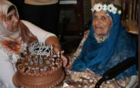 The oldest living District Six land claimant Shariefa Khan turned 100 years old on Sunday, 25 April 2021. Picture: Lizell Persens/Eyewitness News