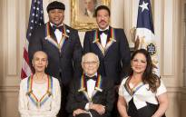 The Kennedy Center honoured Lionel Richie and Gloria Estefan, rapper LL Cool J, television producer Norman Lear and dancer Carmen de Lavallade with honours for the arts. Picture: @kencen/Twitter