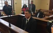 FILE: Jason Rohde in the Stellenbosch Magistrate's Court on 27 January 2016. Picture: Petrus Botha/EWN