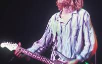 This photo taken 19 February 1992 shows Kurt Cobain, lead singer for the US grunge rockers Nirvana, performing at the Nakano Sun Plaza in Tokyo during their 1992 Asian-Pacific tour. Picture: AFP.