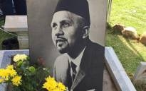 The Cape Town Muslim community commemorates the death of Imam Abdullah Haron in an intimate ceremony on Sunday. Picture: Natalie Malgas/EWN.