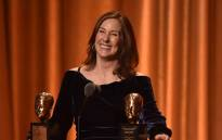 US producer Kathleen Kennedy accepts the Irving G. Thalberg Memorial Award at the 10th Annual Governors Awards gala hosted by the Academy of Motion Picture Arts and Sciences at the the Dolby Theater at Hollywood & Highland Center in Hollywood, California on 18 November 2018. Picture: AFP