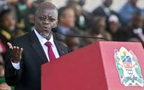 FILE: Tanzania's President John Magufuli delivers a speech during the swearing-in ceremony in Dar es Salaam in November 2015. Picture: AFP