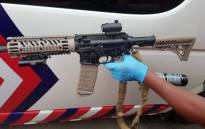 A view of the paintball gun used to attack paramedics in Durban. Picture: ER24.