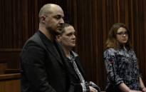 Zak Valentine, Cecilia Steyn and Marcel Steyn at sentencing proceedings on 19 August 2019. Pictures: Kayleen Morgan/EWN