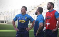 Springbok hooker Schalk Brits during training at the Cape Town Stadium. The Springboks are preparing for the last test against England at Newlands. Picture: Bertram Malgas/EWN