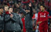 Liverpool players and Jurgen Klopp celebrate their 4-0 win over Barcelona in their UEFA Champions League semifinal second leg match at Anfield on 7 May 2019. Picture: @LFC/Twitter