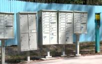 Delivery boxes outside Nudist community in Florida, USA. Picture:CNN